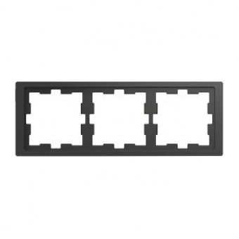 Рамка 3х цвят Антрацит System Design Merten SE ,MTN4030-6534