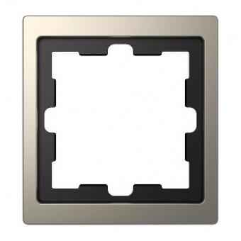 Рамка 1х цвят Никел System Design Merten SE ,MTN4010-6550