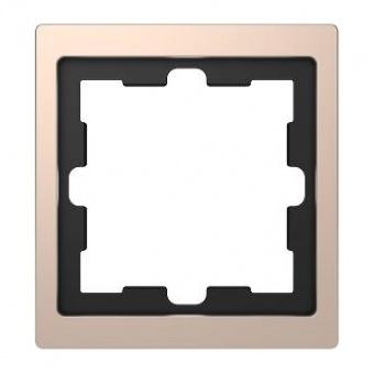 Рамка 1х цвят Шампанско System Design Merten SE ,MTN4010-6551
