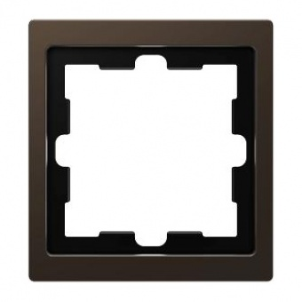 Рамка 1х цвят Мока System Design Merten SE ,MTN4010-6552