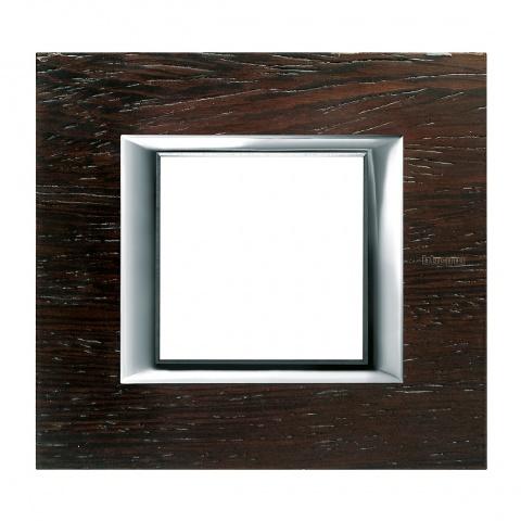 дървена рамка, wenge, bticino, axolute, ha4802lwe