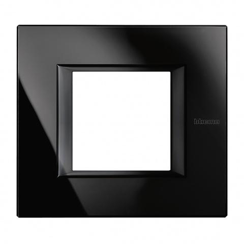 стъклена рамка, nighter, bticino, axolute, ha4802vnb