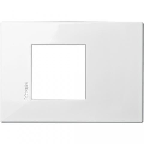 pvc рамка, axolute white, bticino, axolute air, hw4819hd
