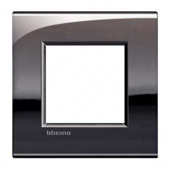 метална рамка, pewter, bticino, livinglight air, lnc4802pt