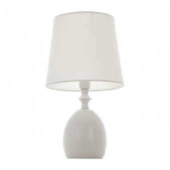 метална настолна лампа, бял, elbulgaria, 1x40w, 1485-wh