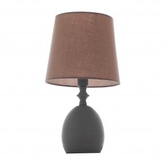 метална настолна лампа, сив, elbulgaria, 1x40w, 1485-gr