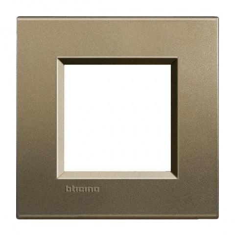 метална рамка, square, bticino, livinglight, lna4802sq