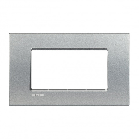 pvс четиримодулна рамка, tech, bticino, livinglight, lna4804te
