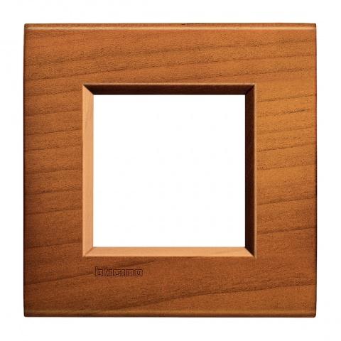 дървена рамка, cherrywood, bticino, livinglight, lna4802lca