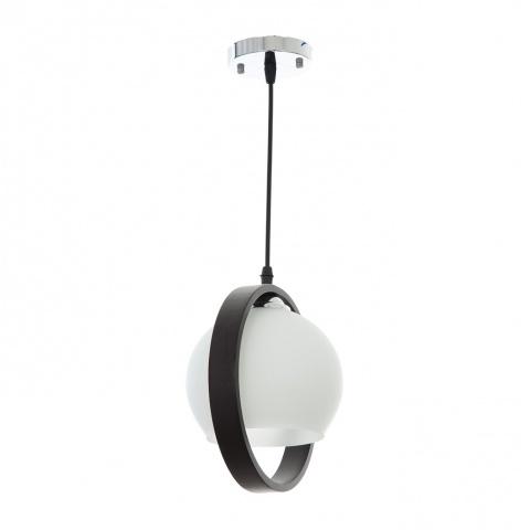 стъклен пендел, бял, elbulgaria, 1x40w, 552/1p