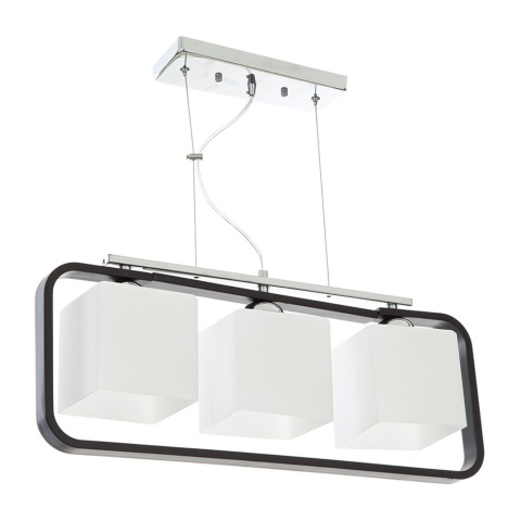 стъклен полилей, бял, elbulgaria, 3x40w, 700/3
